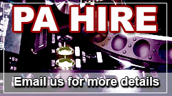 PA Hire - Ask for details